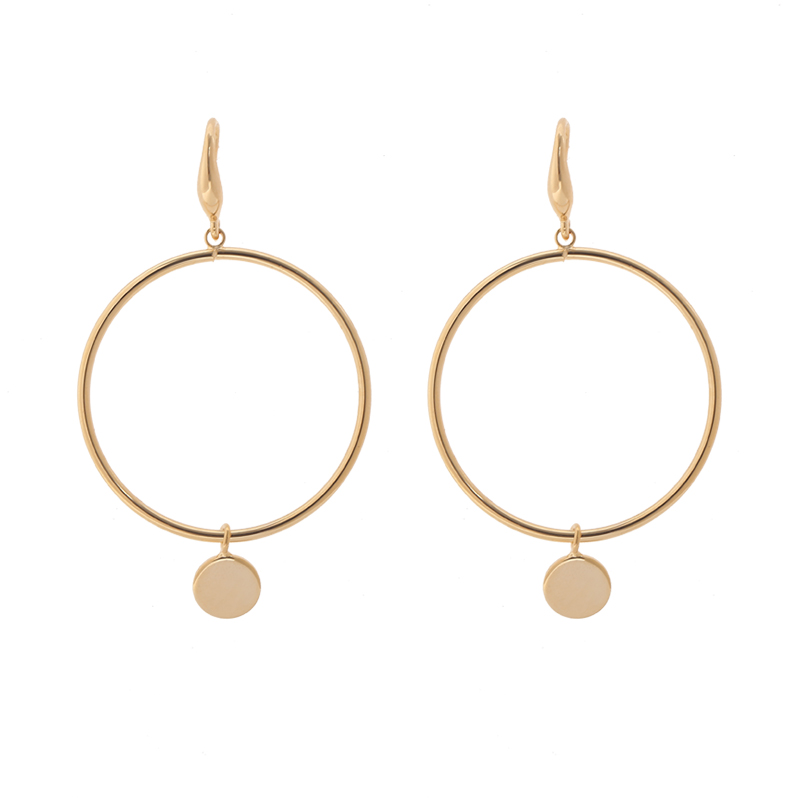 Earrings circle