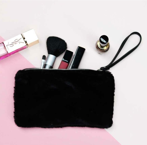 Make-up tasje Fake Fur