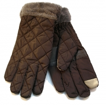 Touchscreen gloves grey