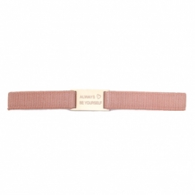 Armband Always be yourself rose goud