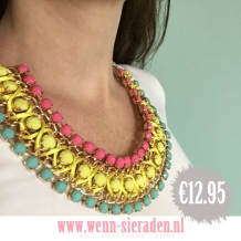 Neon statement ketting